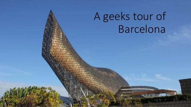 The geeks tour of Barcelona was a quickly put together presentation for the Australian Internet of Things Forum (http://ww...