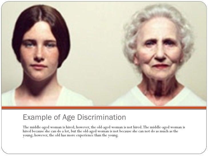 Prejudice and discrimination examples