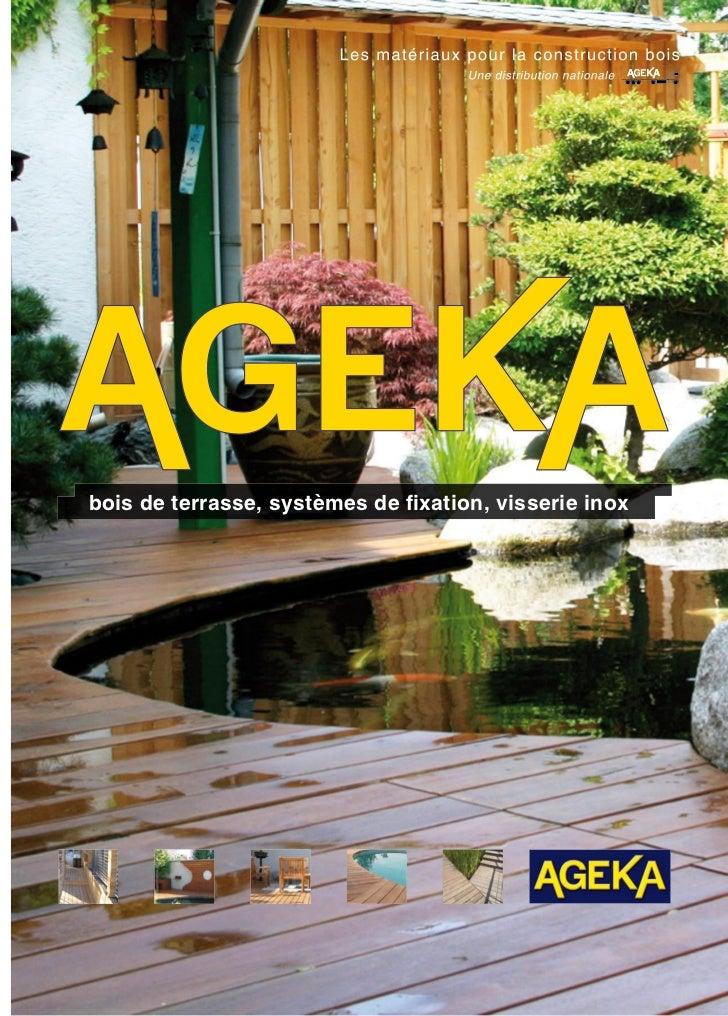bois de terrasse, systèmes de fixation, visserie inox