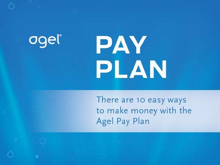 Agel  Compensation  Plan Presentation