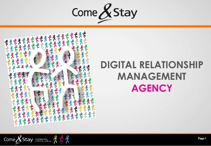 DIGITAL RELATIONSHIP   MANAGEMENT      AGENCY                  Page 1