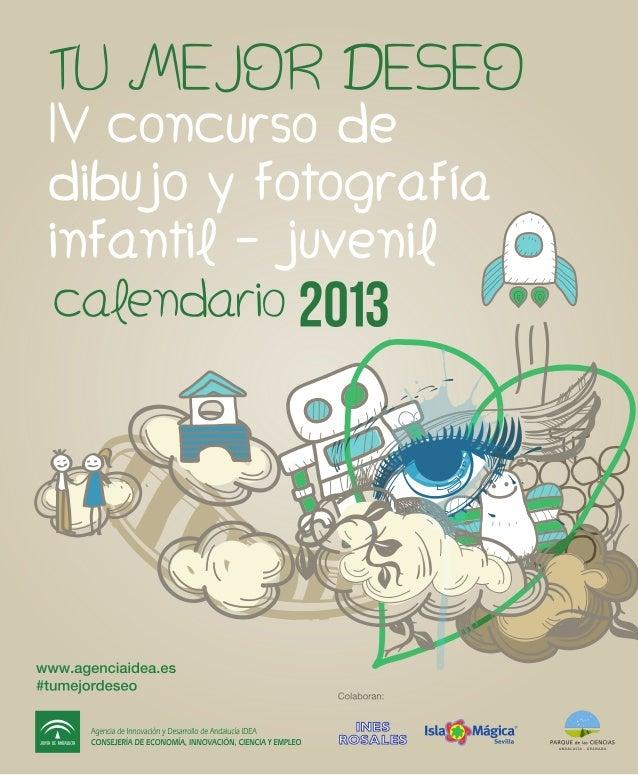 Agencia IDEA: Calendario Tu mejor deseo 2013