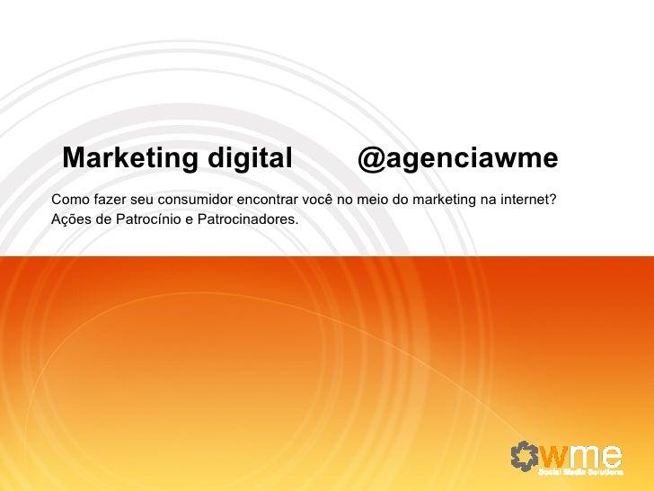 Agenciawme quem somos nossos serviços
