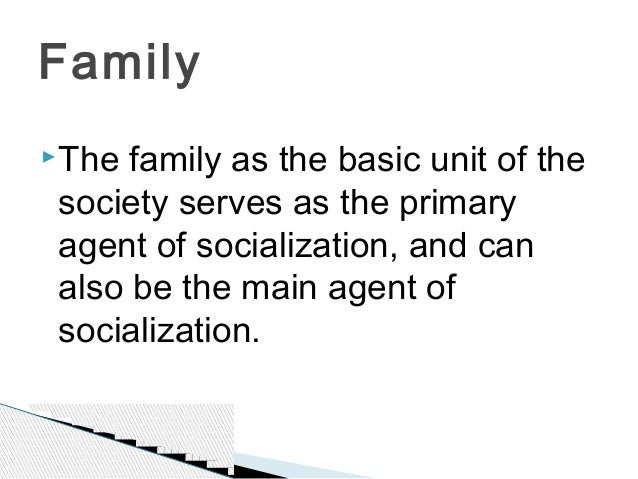 socialization agents essay The socialization that we receive in childhood has a lasting effect on our ability to interact with others in society in this lesson, we identify and discuss four of the most influential agents of socialization in childhood: family, school, peers, and media.