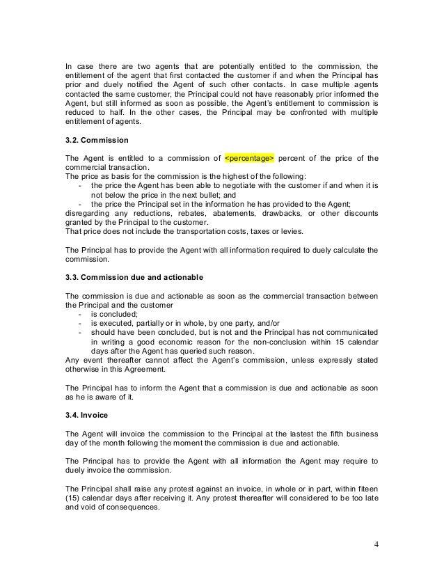 Insurance broker agreement template