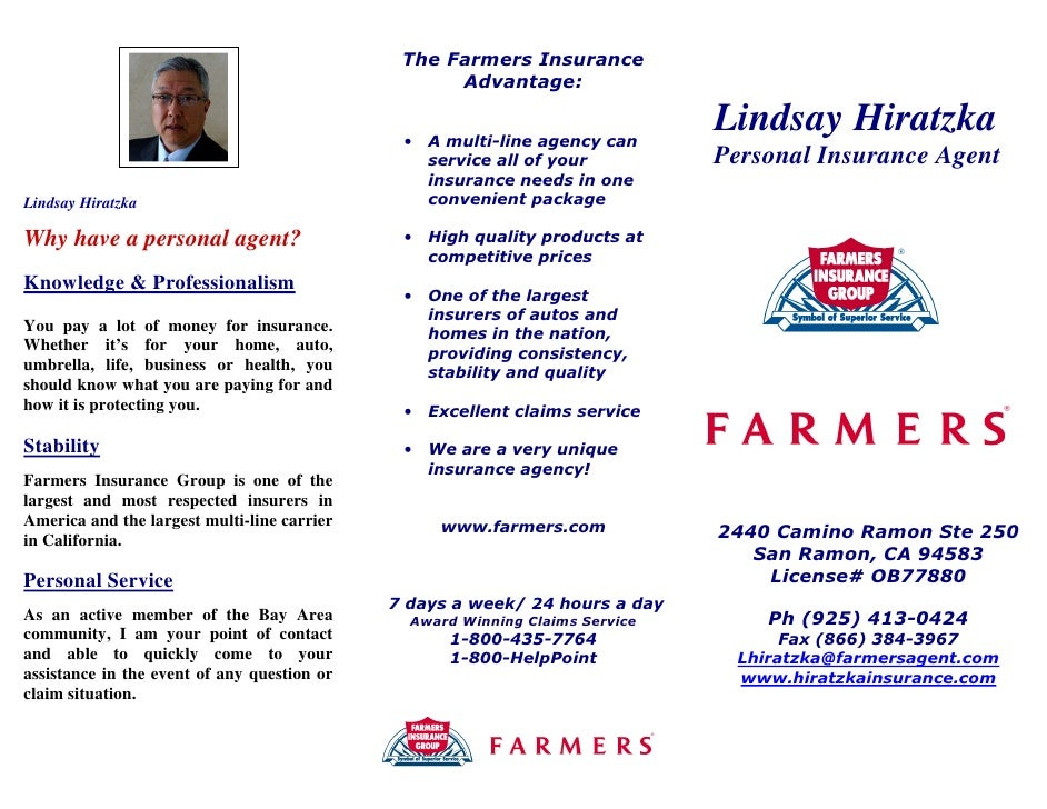 Insurance Marketing Brochure