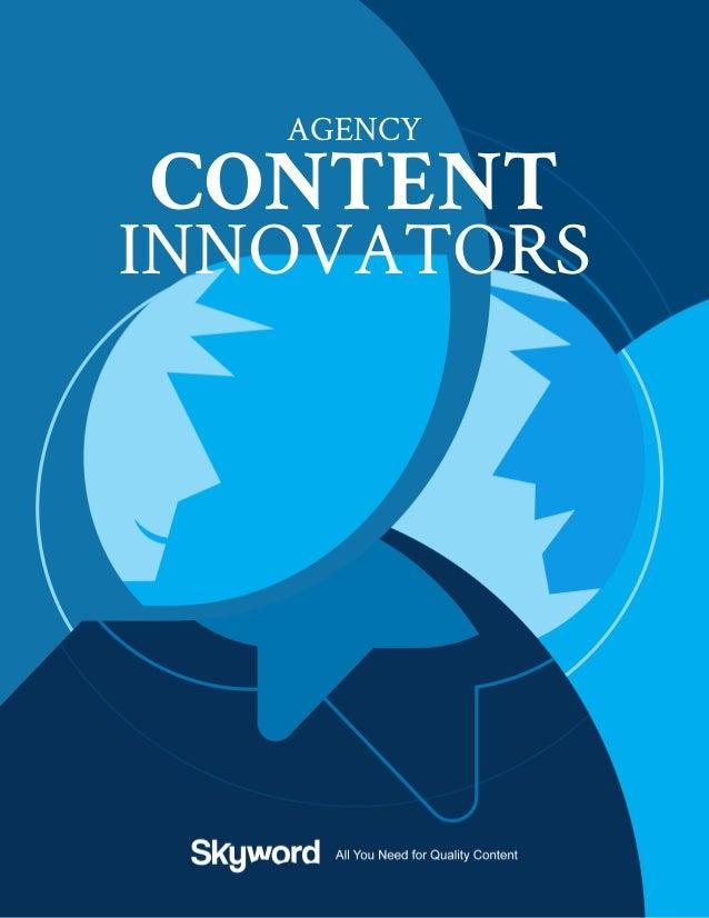 Agency Content Innovators