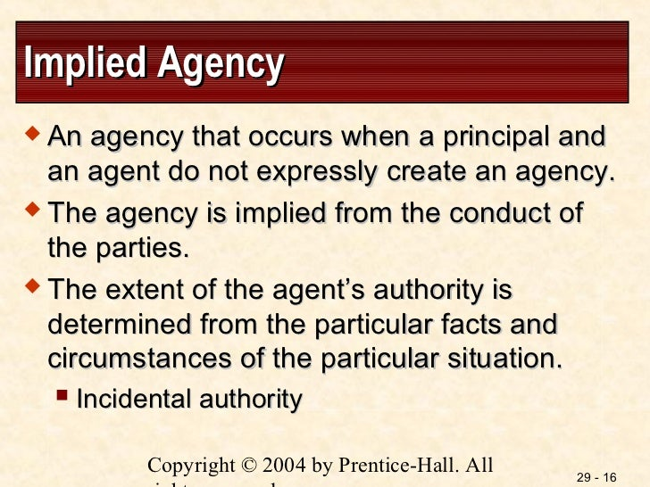 agency law notes Contracts 01 – privity e agency the privity rule does not apply if the third party can show that one of the contracting parties was acting as his or her agent.