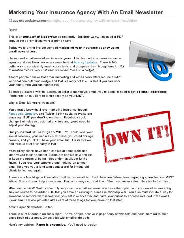 Email marketing agency sydney