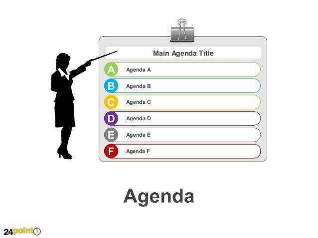 Agenda Template Powerpoint | Template Design