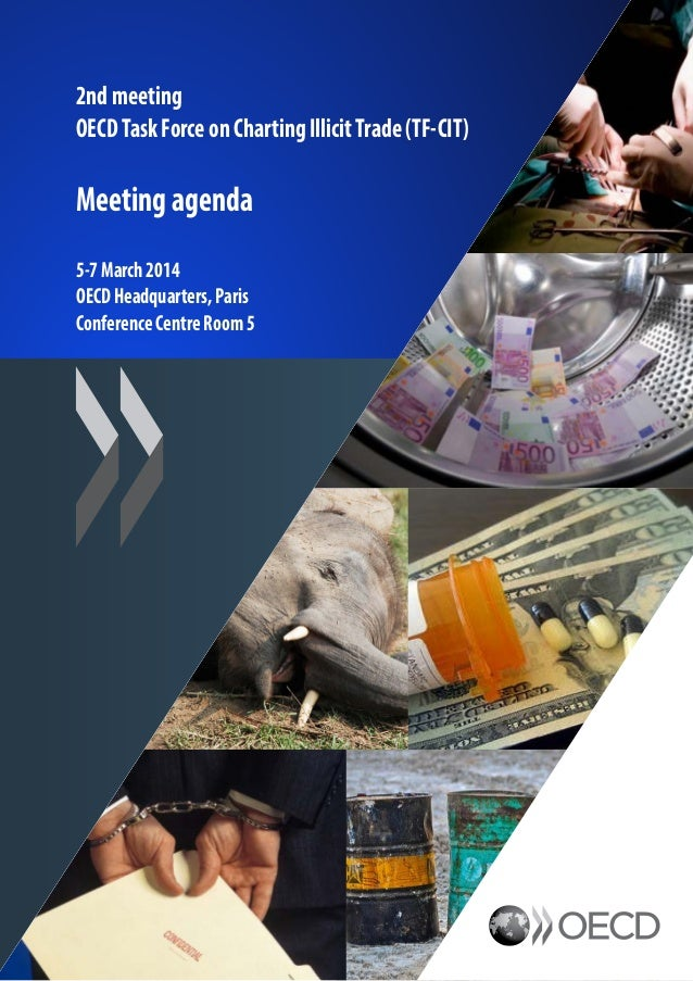 Charting Illicit Trade - OECD Task Force Meeting, Agenda