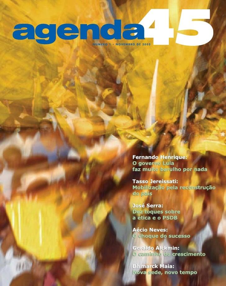 Agenda45   novembro de 2005   1