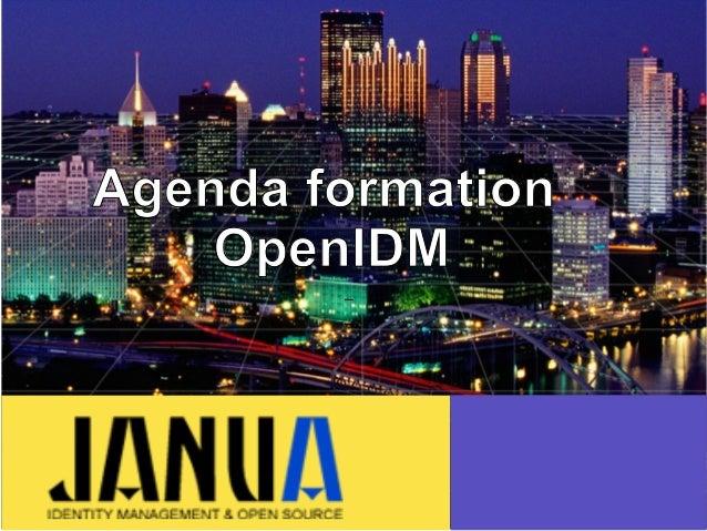 – – – Agenda formation OpenIDM