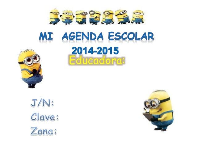 Agenda 2014 2015 yop