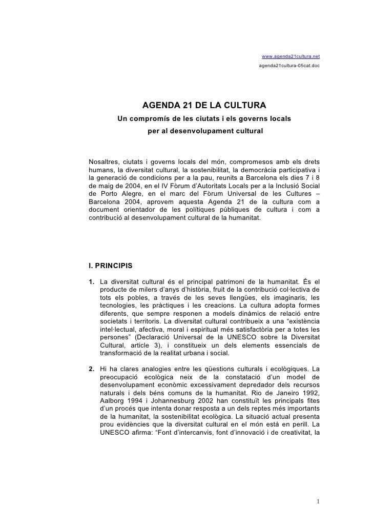 Agenda 21 2