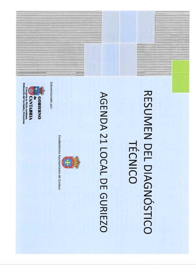 Agenda 21 local guriezo resúmenes técnico y participación social