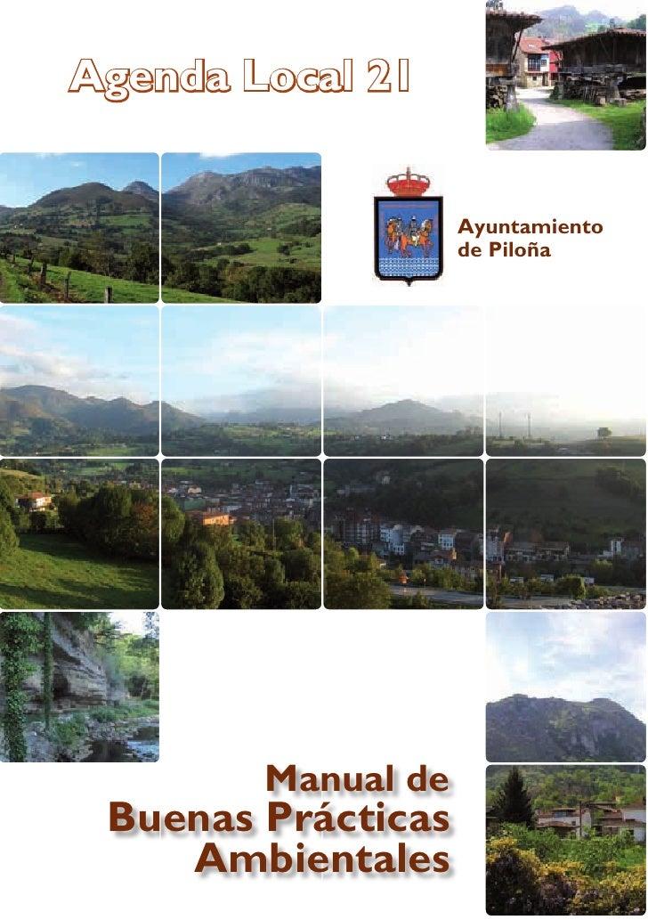 Manual de Buenas Prácticas Ambientales. Piloña