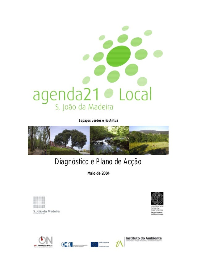 Espaços verdes e rio Antuã: diagnóstico e plano de acção