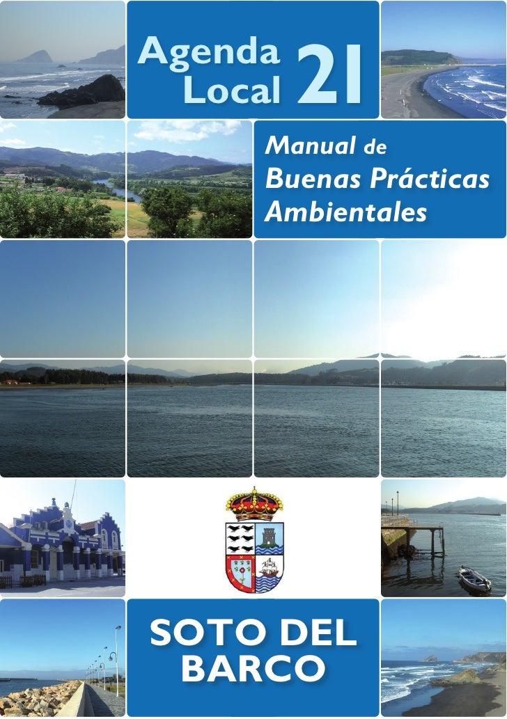 Agenda  Local   21      Manual de      Buenas Prácticas      AmbientalesSOTO DEL BARCO