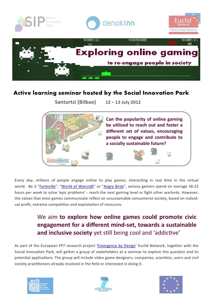 Agenda active learning seminar