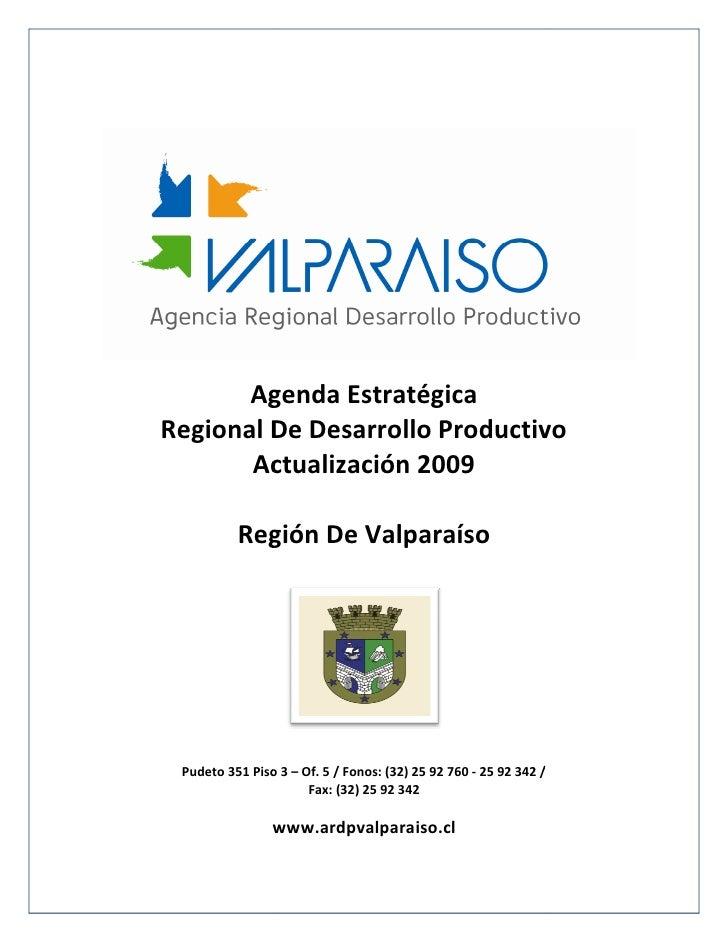 Agenda Actualizada 2009    Ardp Valparaiso