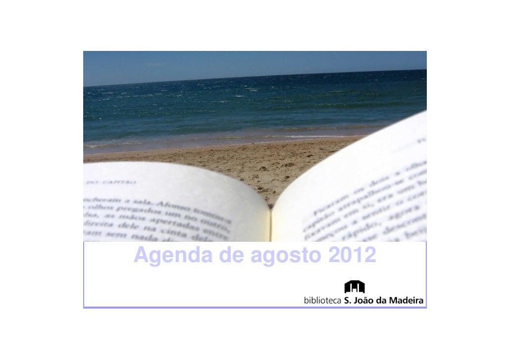 Agenda de agosto 2012