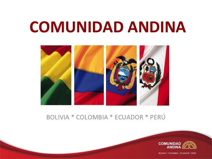 Agenda ambiental andina