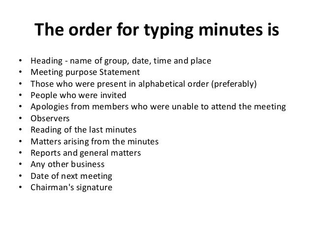 Informal Meeting Minutes Sample Agenda and meeting minutes