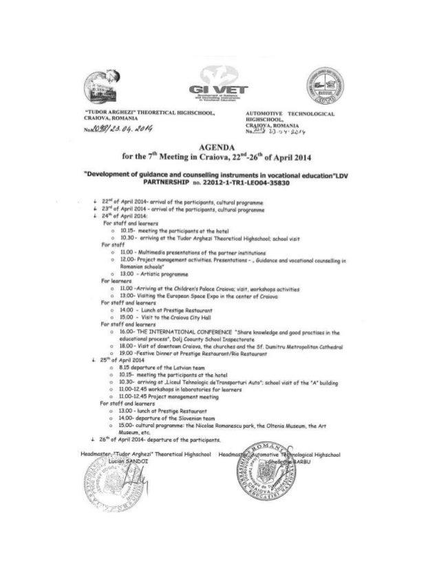 Agenda conf int