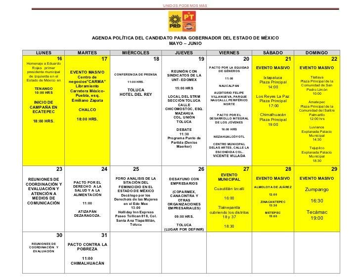Agenda de campana de  alejandro encinas (1)