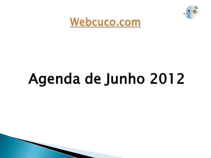 Agenda de Junho 2012