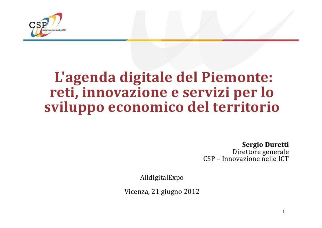 Agenda digitale piemonte