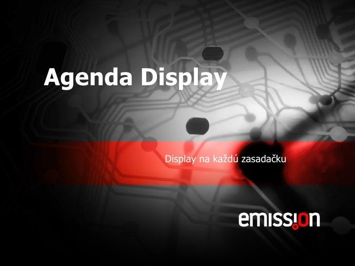 Agenda Display Presentation Sk