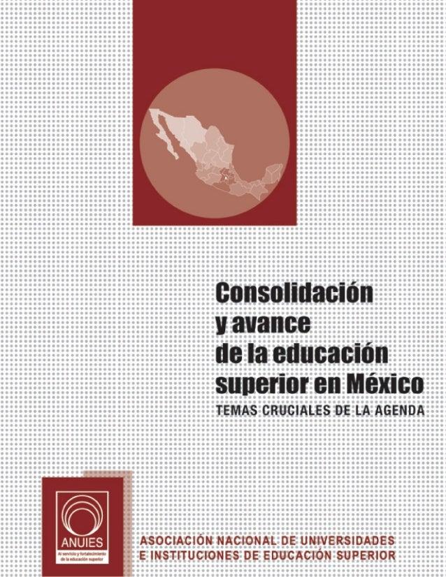 Al servicio y fortalecimiento de la educación superior       CONSEJO NACIONAL DE LA ANUIES                                ...