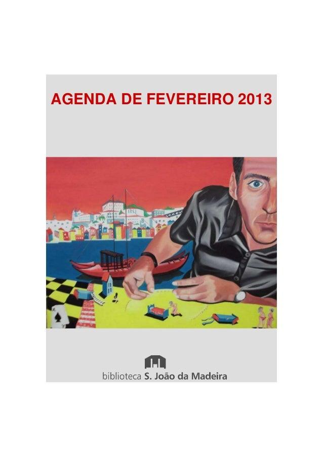 AGENDA DE FEVEREIRO 2013