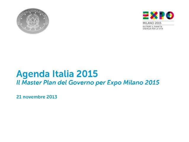 Agenda Italia  2015