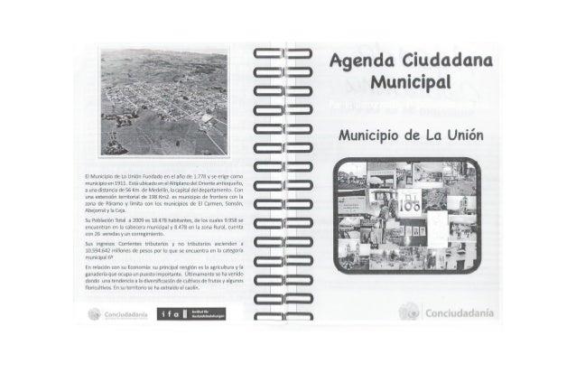Agenda Ciudadana La Unión
