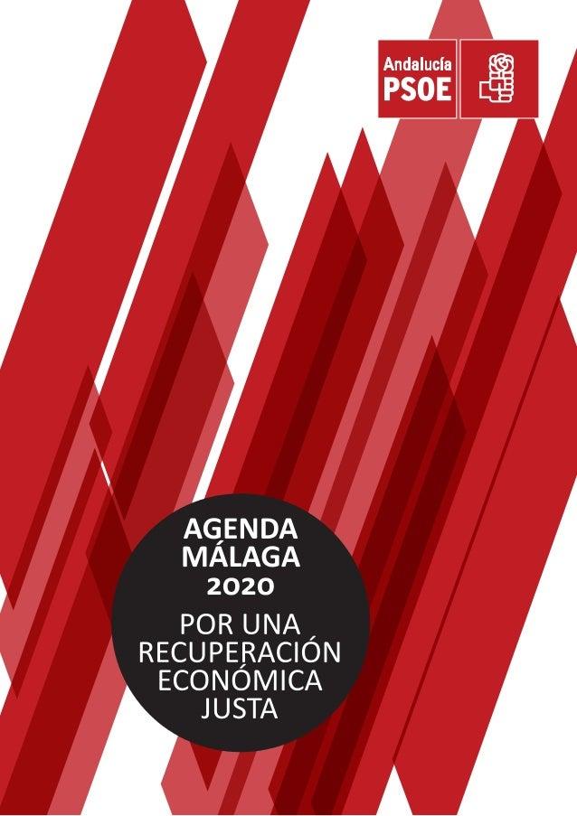 Agenda Malaga 2020: por una recuperación justa