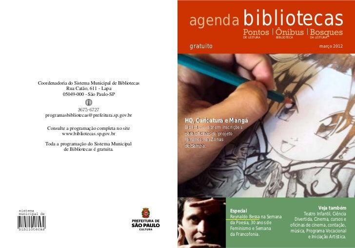 agenda bibliotecas                                                                                   DE LEITURA   BIBLIOTE...