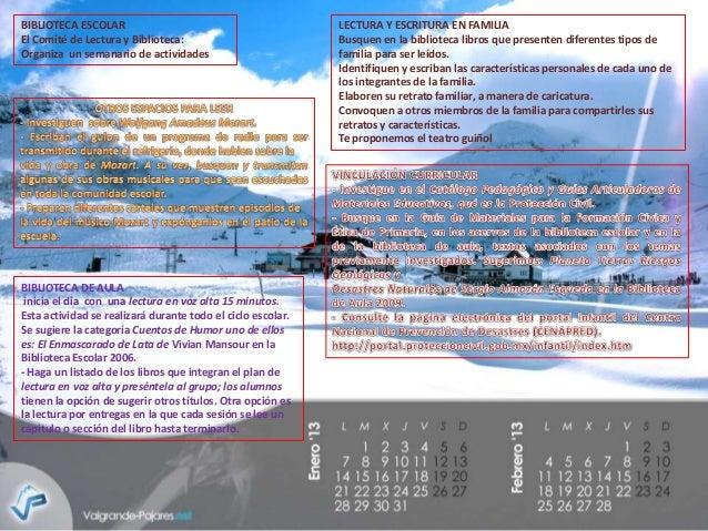 Agenda pnl de enero
