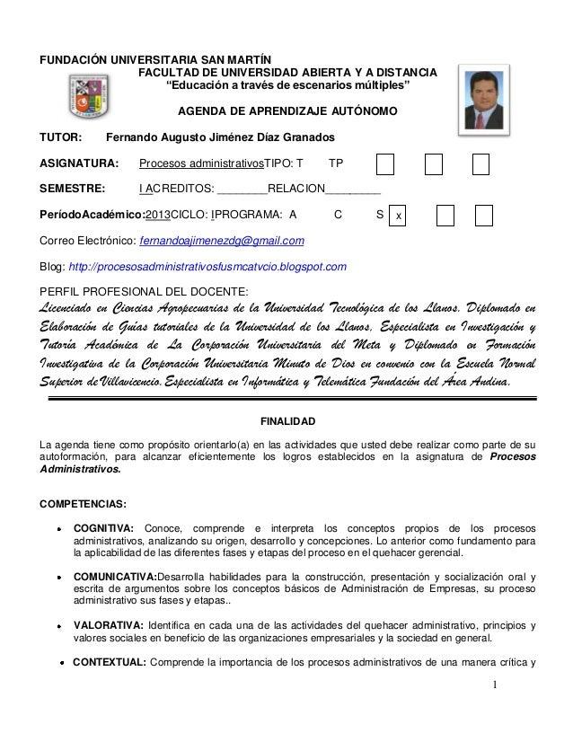 """FUNDACIÓN UNIVERSITARIA SAN MARTÍN              FACULTAD DE UNIVERSIDAD ABIERTA Y A DISTANCIA                  """"Educación ..."""