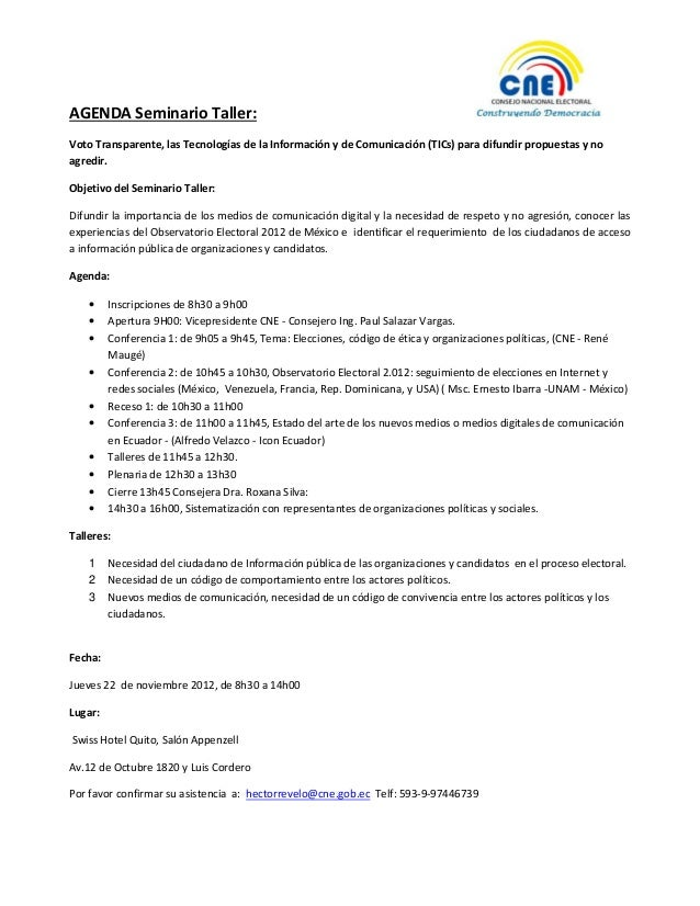 Agenda seminario taller vt nov2012(2)