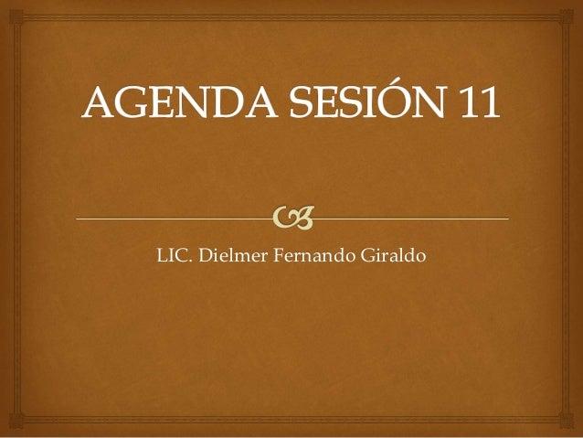 LIC. Dielmer Fernando Giraldo