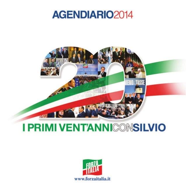 Club Forza Silvio: Agendiario 2014