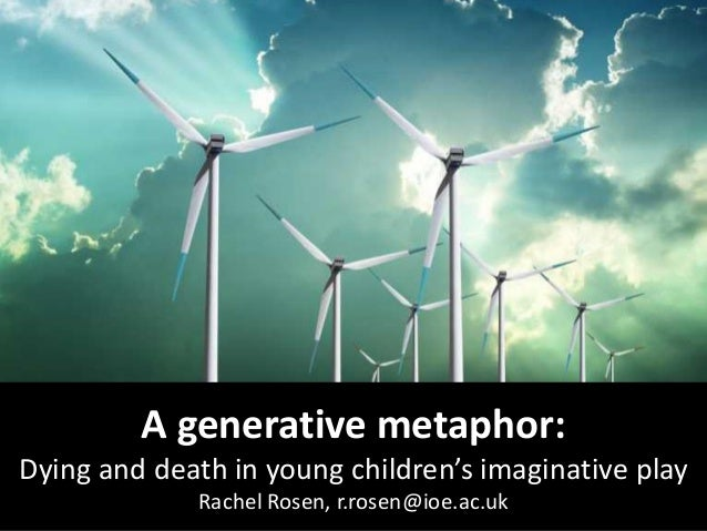 A generative metaphor: Dying and death in young children's imaginative play by Rachel Rosen