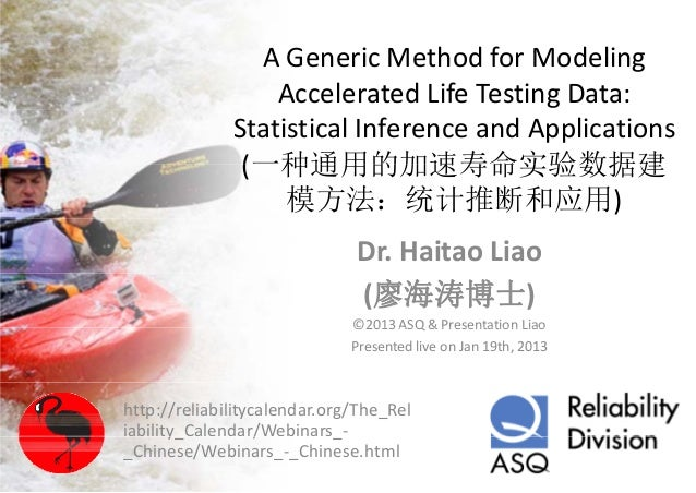 A generic method for modeling accelerated life testing data