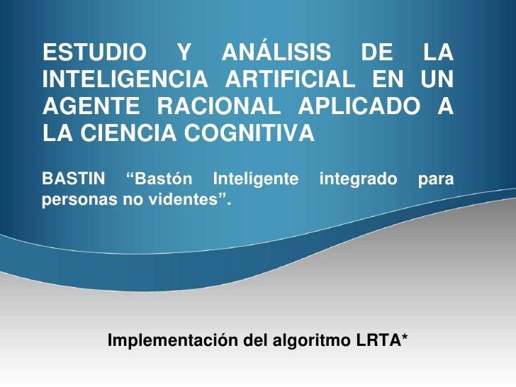 Implementacion Algoritmo LRTA*
