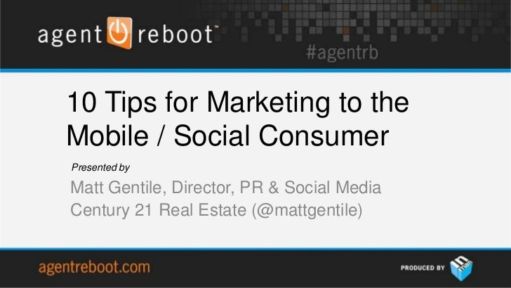 10 Mobile and Social Media Marketing Tips