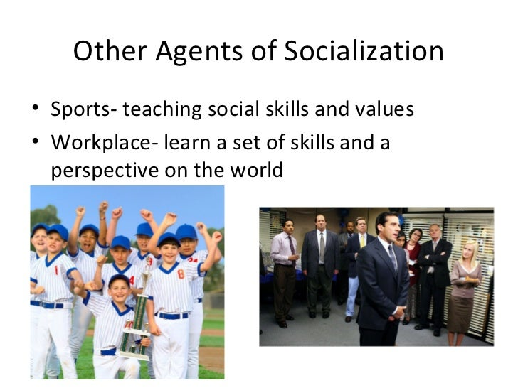 agents of socialization essay 6 Agents of socialization essaysyour family is the most important part of who you are your family is there for emotional support the family is where we acquire our specific social position.