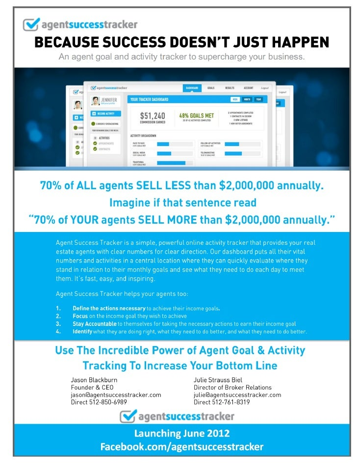 Driving Success: The Incredible Power of Agent Goal & Activity Tracking for Increasing a Broker's Bottom Line